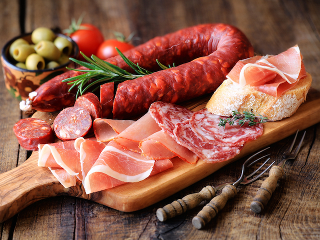 Spanish Meat Tapas