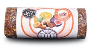 Sinaasappel vruchtenbrood met amandelen