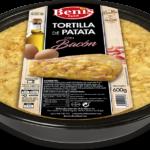 Tortilla met bacon
