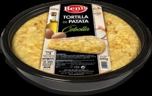 Tortilla met ui